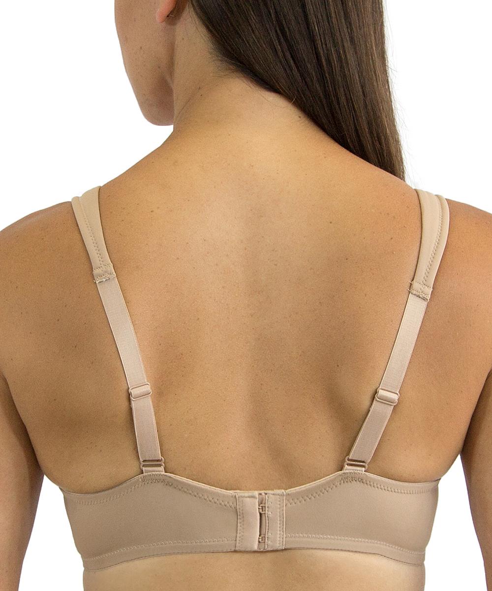 07d3bd95b57e4 ... Womens WMTA Nude Cool Fit Coverage T-Shirt Nursing Bra - Plus Too -  Alternate