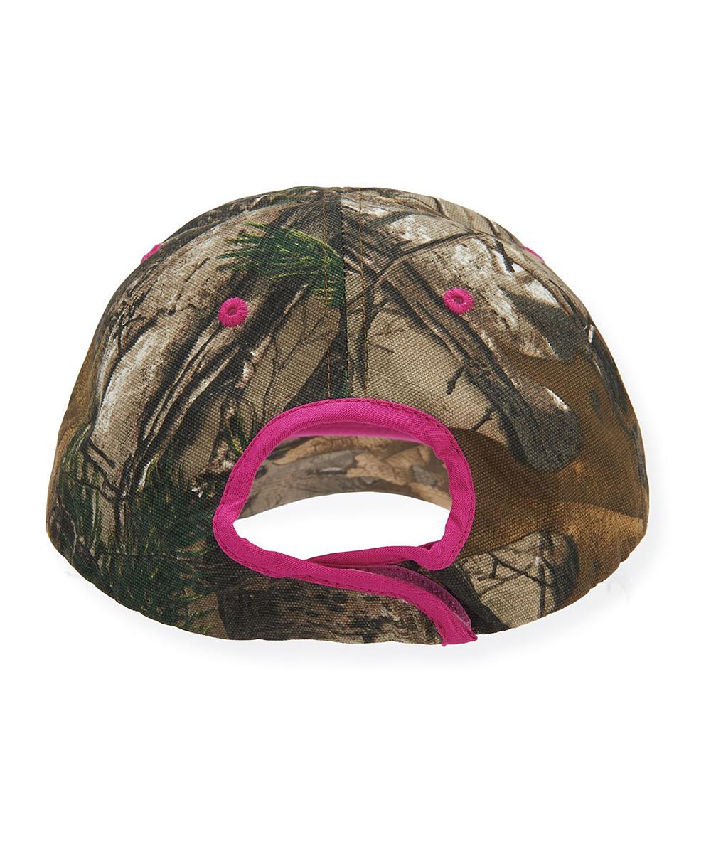 88956bbc453 Dark Brown   Hot Pink Camo Carhartt Baseball Cap