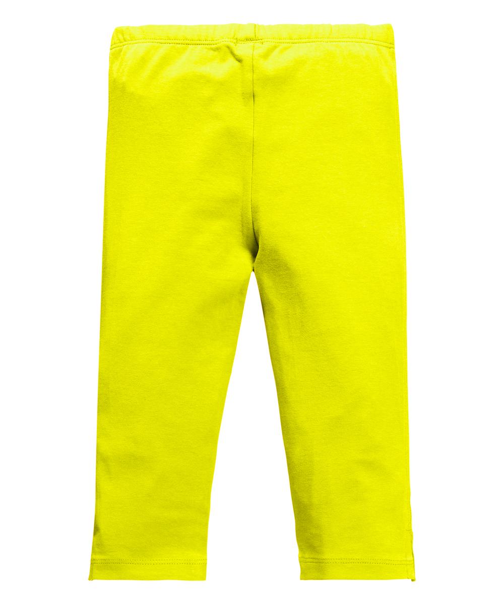 Room Seven Lemon Yellow Tipka Leggings - Toddler