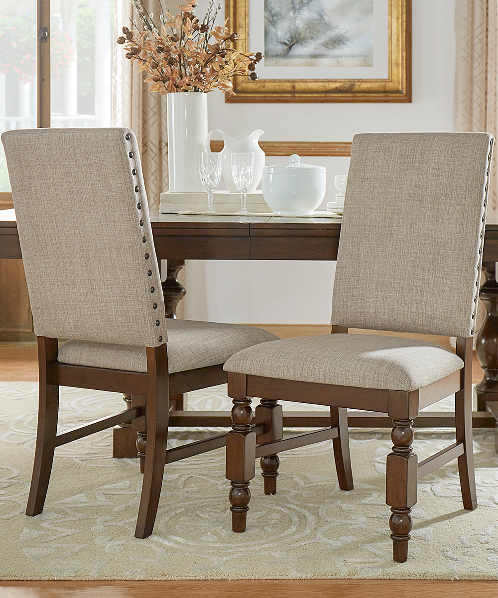 Gray Flatiron Upholstered Dining Chair - Set of Two