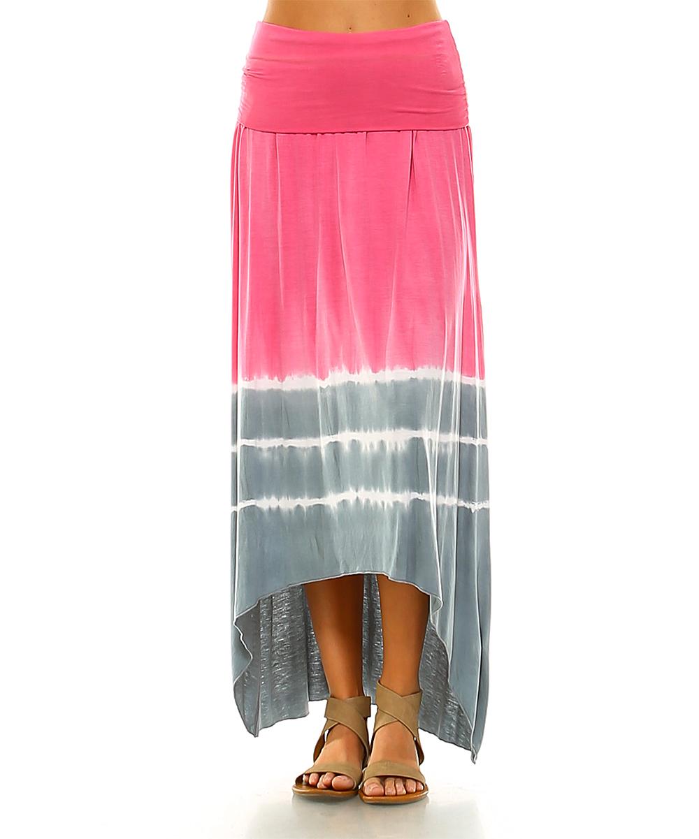 627625fdc4 Light Pink Flowy Maxi Skirt   Saddha