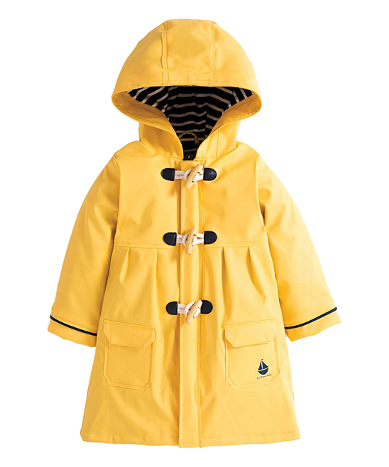 349a747ab JoJo Maman Bébé Yellow Toggle Rain Coat - Infant