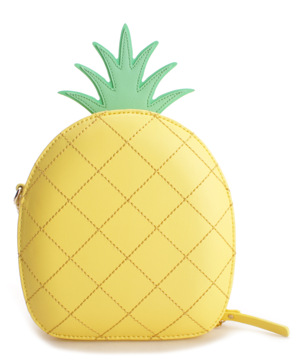 1f040bc0dab9 Kate Spade Yellow How Refreshing Pineapple Crossbody | Zulily