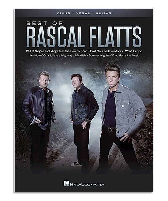Best of Rascal Flatts Piano, Vocal & Guitar Music Book