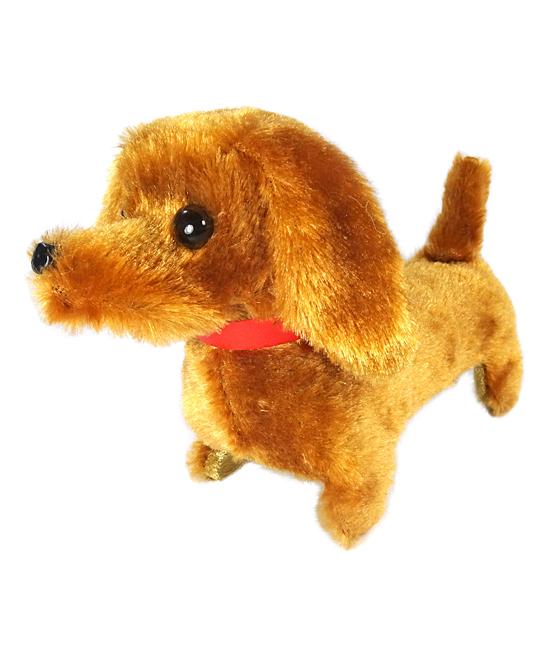ENV Toys  Stuffed Animals  - Walking & Barking Dachshund Puppy Toy
