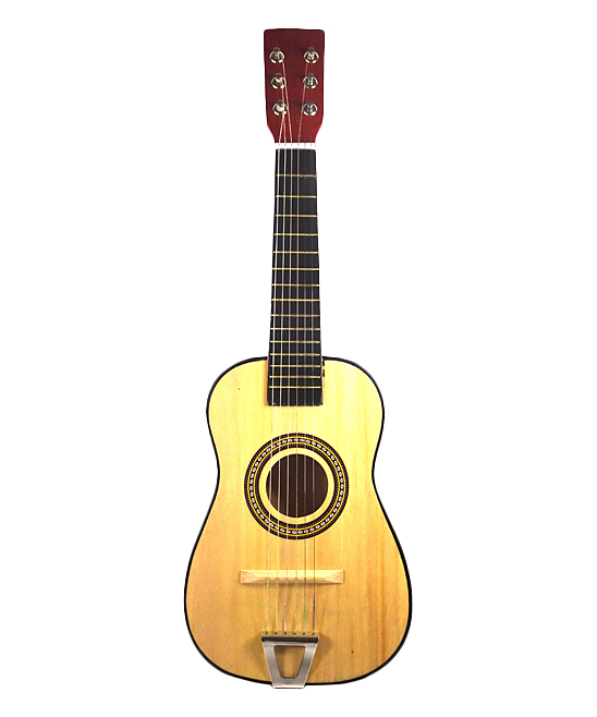 ENV Toys  Toy Guitar  - Natural Wooden Kids' Acoustic Guitar