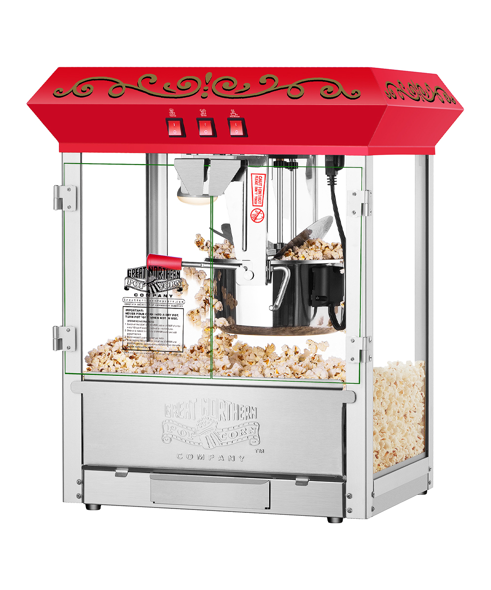 Great Northern Popcorn Company Red Perfect Popper Countertop Style Popcorn  Machine