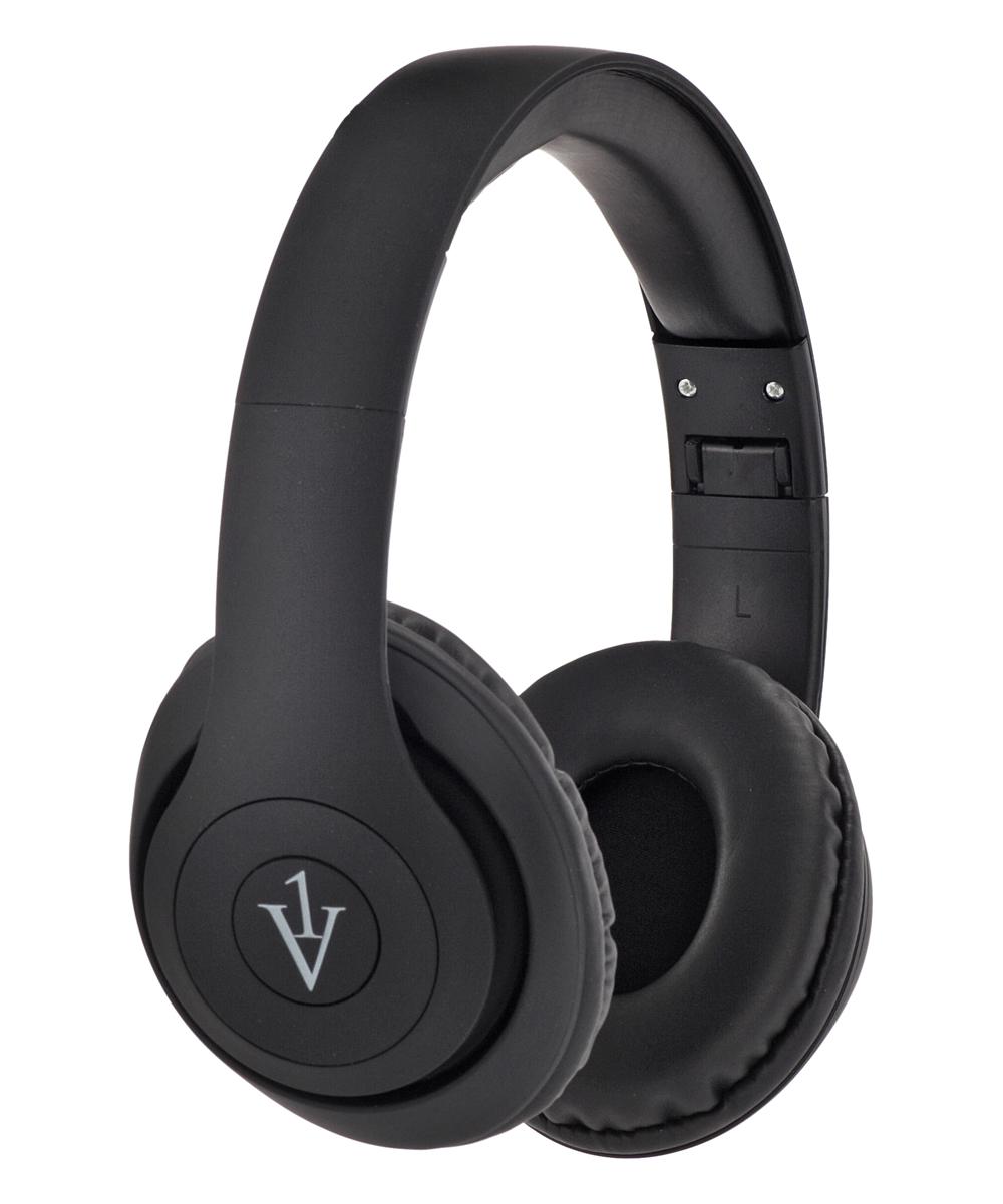 1 Voice  Wired Headphones Black - Black One-Voice Sonic Bluetooth Headphones