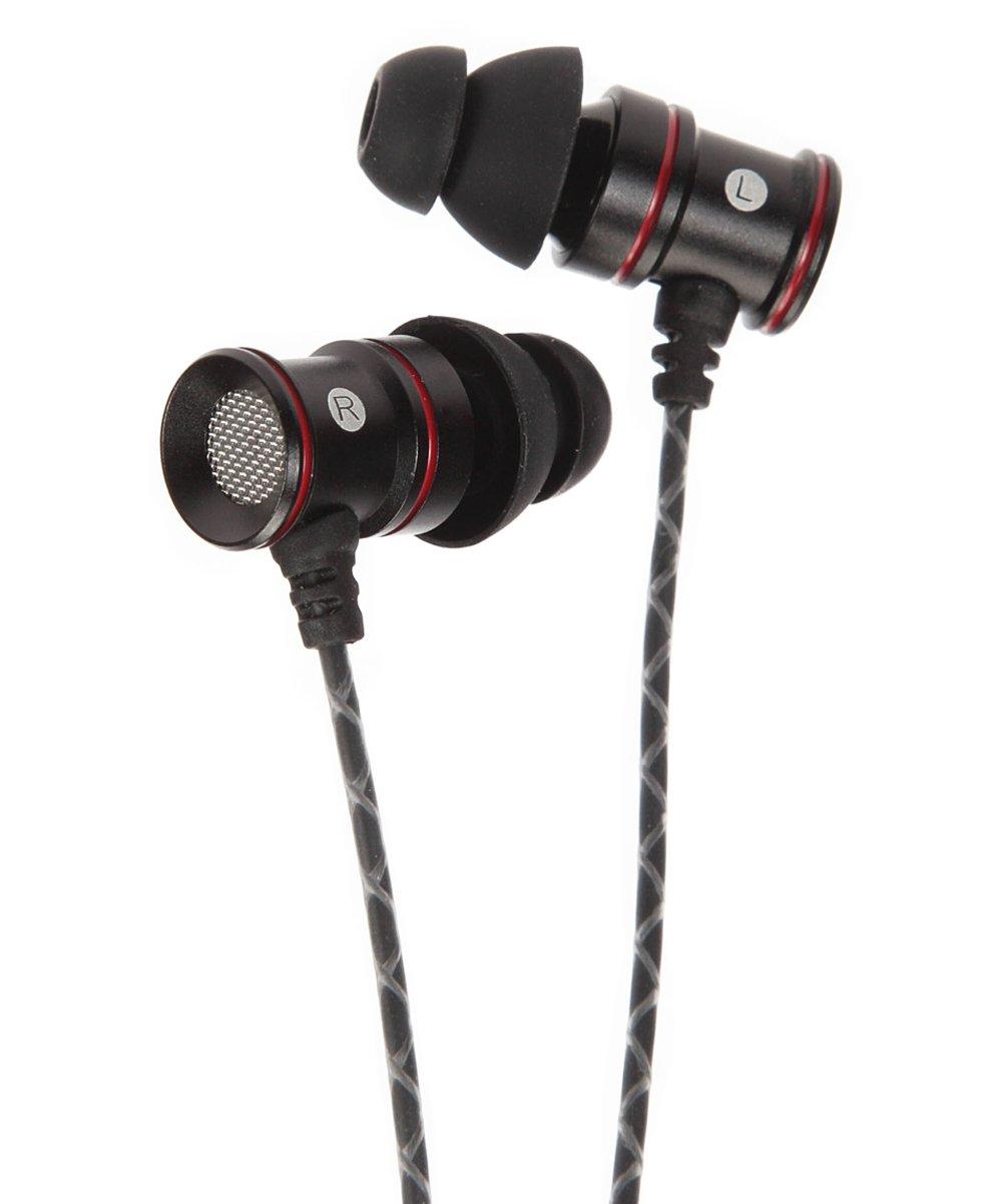 1 Voice  Wired Headphones Black - Black One-Voice M80 Earphones