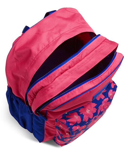 986af97046 Vera Bradley Art Poppies Large Color Block Backpack