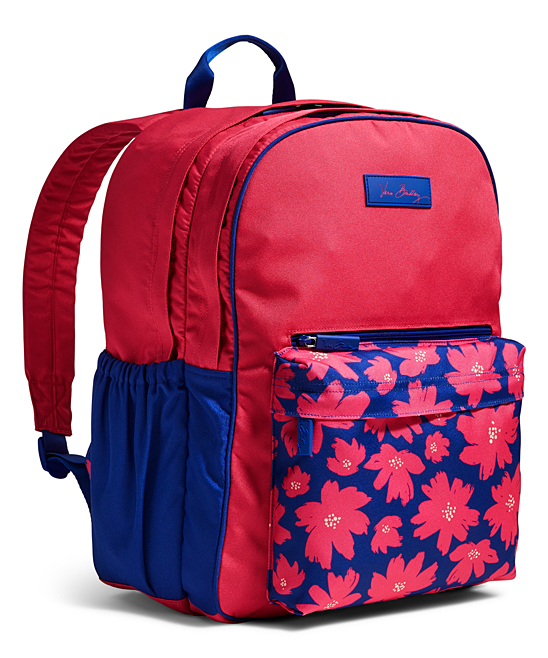 8723dbe376 love this product Art Poppies Large Color Block Backpack