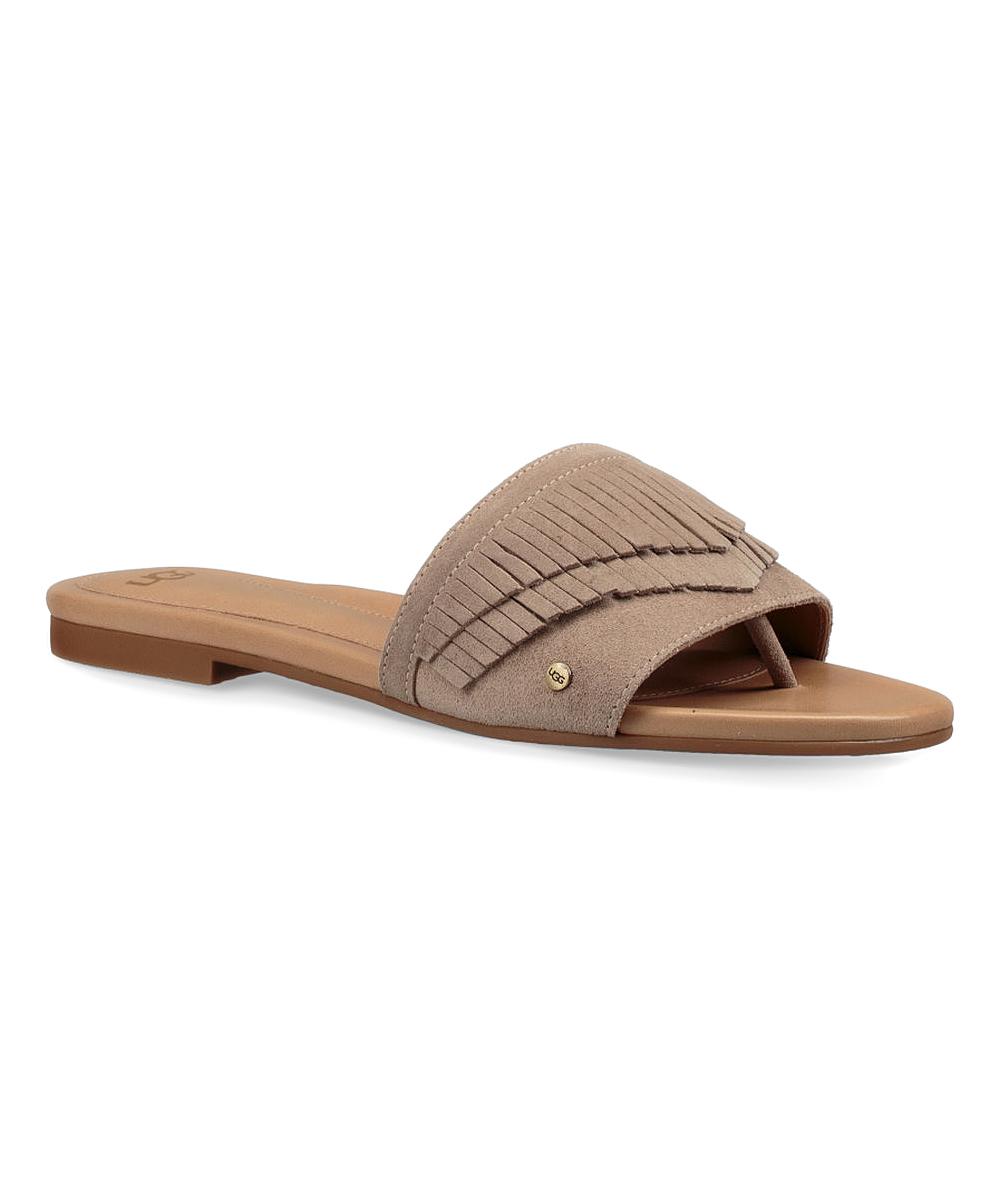 52cddf10259 UGG® Sand Binx Leather Sandal - Women | Zulily