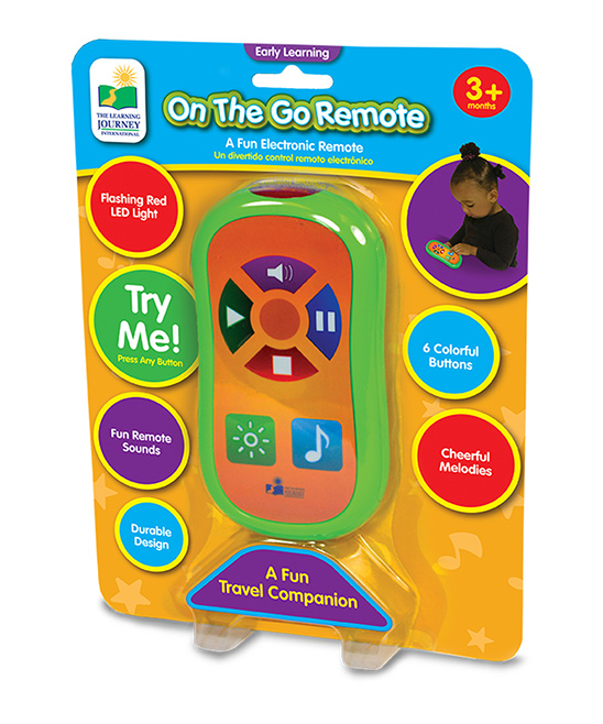 The Learning Journey  Toy Pretend Electronics  - On-the-Go Play Remote