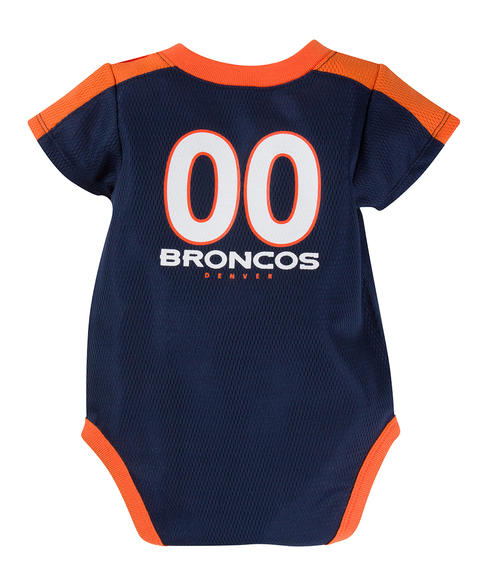 ... Girls Broncos Denver Broncos Dazzle Bodysuit - Alternate Image 2 584190016