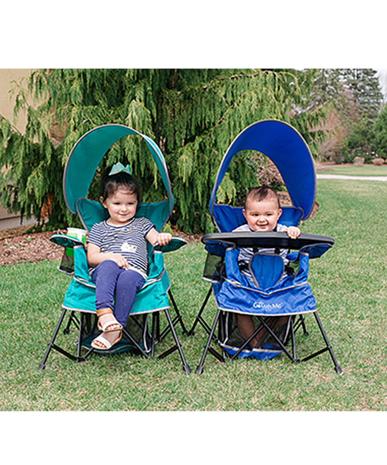 ... Teal Teal Go With Me Portable Indoor/Outdoor Chair - Alternate Image 5  sc 1 st  Zulily & Baby Delight Teal Go With Me Portable Indoor/Outdoor Chair | Zulily