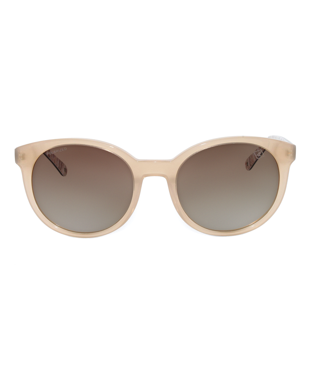 8129a91ad8 all gone. Brown Rope   Brown Gradient Polarized Castine Sunglasses - Women