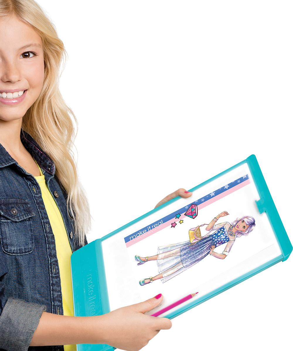 Make It Real Fashion Design Tracing Light Table Mega Set Zulily