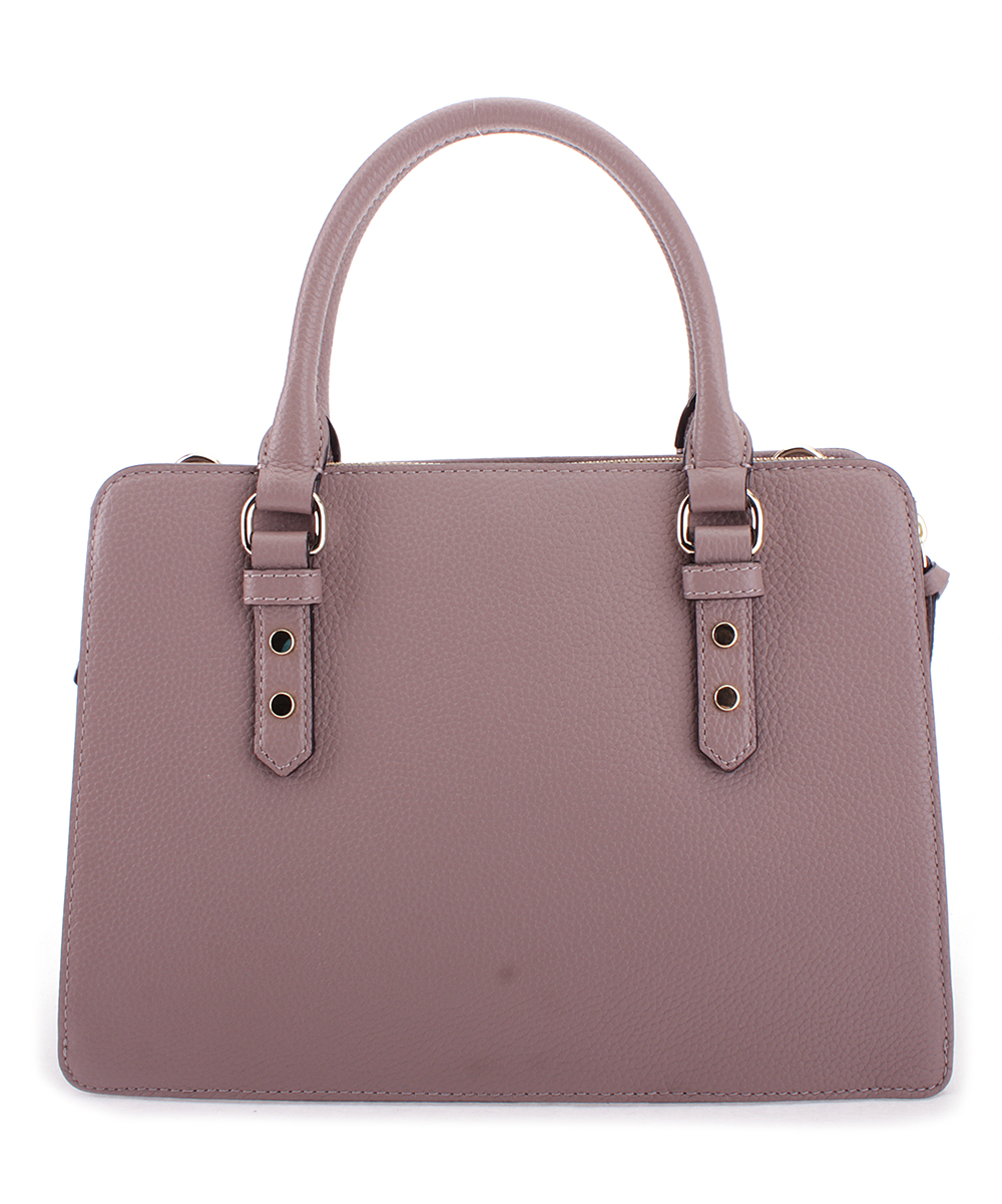 ff44e0629b74 Kate Spade Porcini Lise Mulberry Street Leather Satchel