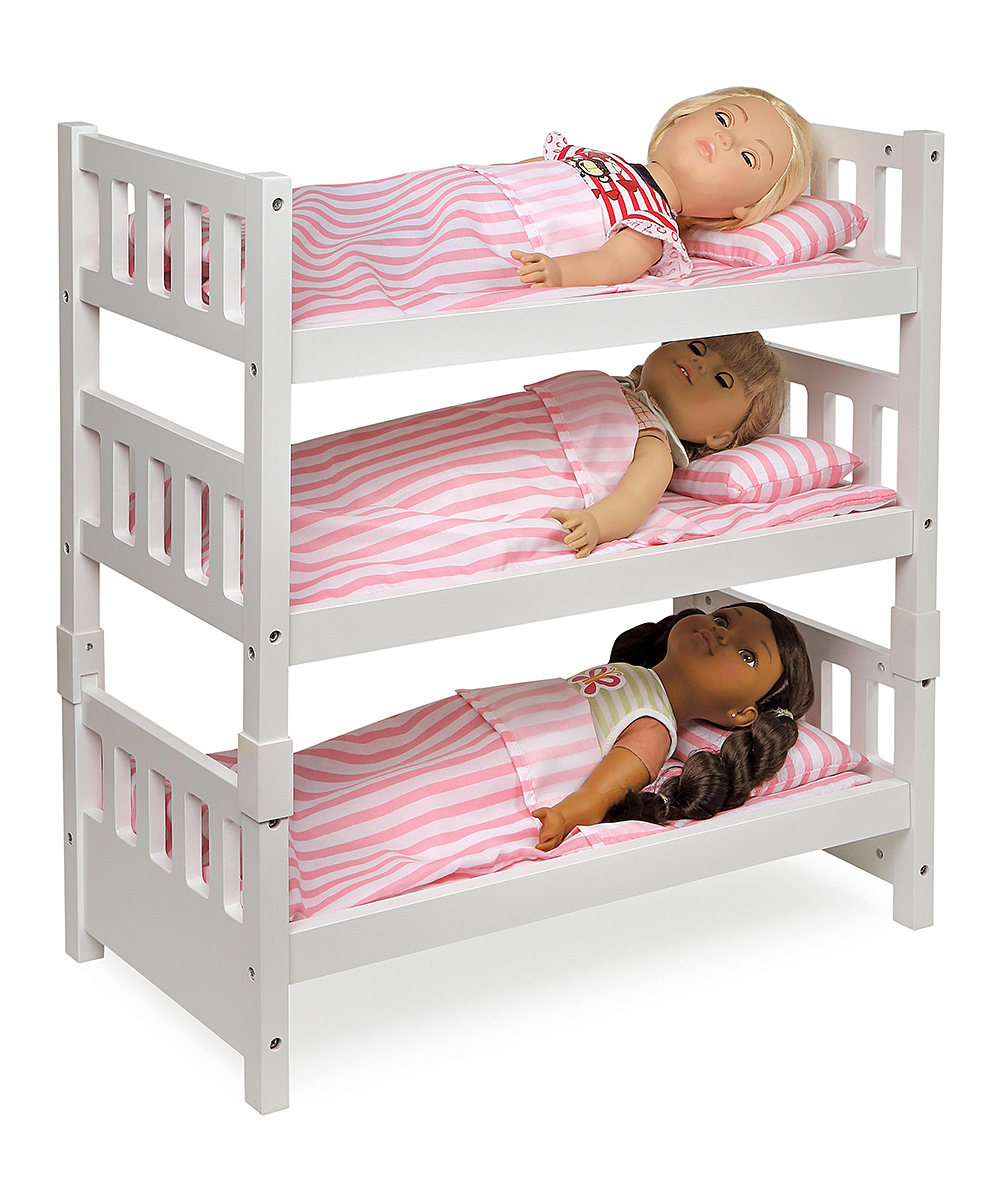 1 2 3 Convertible Doll Bunk Bed For 18 Doll Zulily
