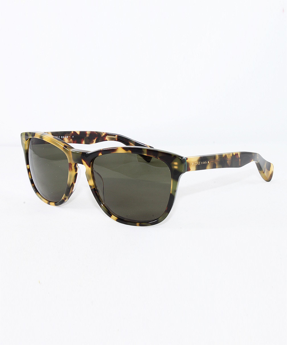 a801d5ffee37 Cole Haan Fatigue Tortoise Square Sunglasses - Men | Zulily