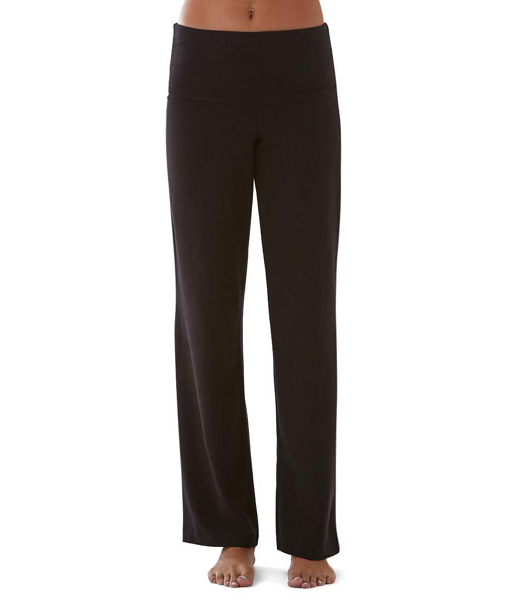 bd8883e0c5390f Straight Leg Black Dress Pant Yoga Pants