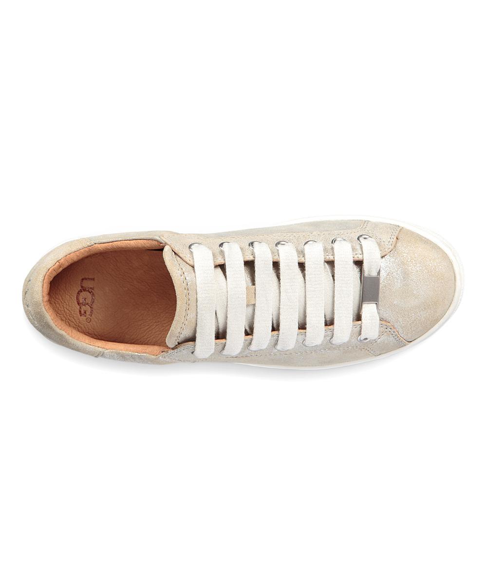 6b6a60aeea6 UGG® Silver Milo Stardust Suede Sneaker - Women