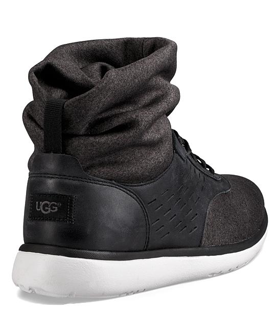 a4015eb8816 UGG® Black Islay Leather Hi-Top Sneaker - Women