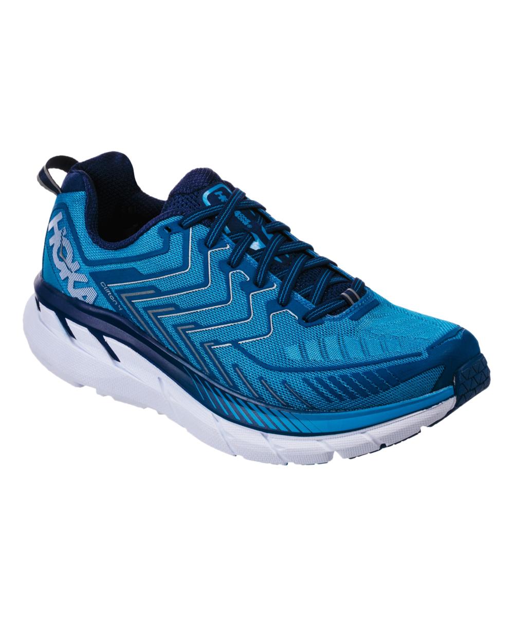 HOKA ONE ONE Men's Running Shoes DIVA - Diva Blue & True Blue Clifton 4 Running Shoe - Men