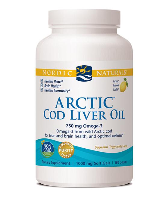 Nordic Naturals Vitamins & Supplements - 1000-mg Arctic Cod Liver Oil