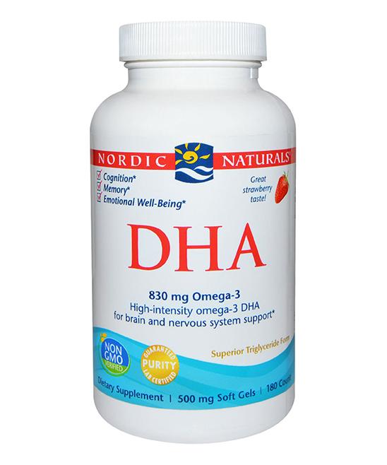 Nordic Naturals Vitamins & Supplements - 500-mg DHA Softgels