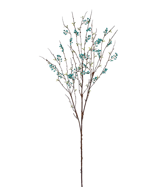 Aqua Berry Branch Decor Aqua Berry Branch Decor. Add a touch of elegance to your decor with this eye-catching plant decor. 38'' LPlastic / polyester / wireImported