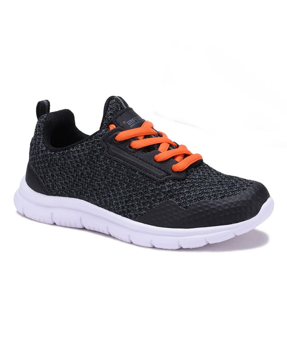 Dream Seek Boys' Sneakers BLACK - All Black Athletic Lace-Up Sneaker - Boys