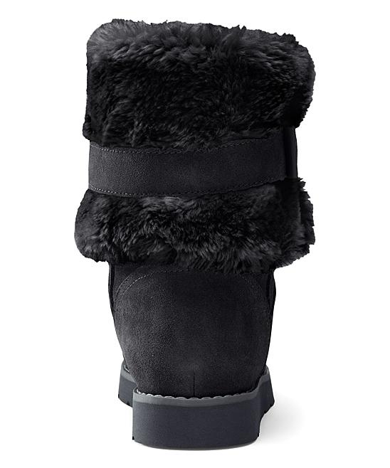 3cbb3ae277 love this product Black Plush Short Boots