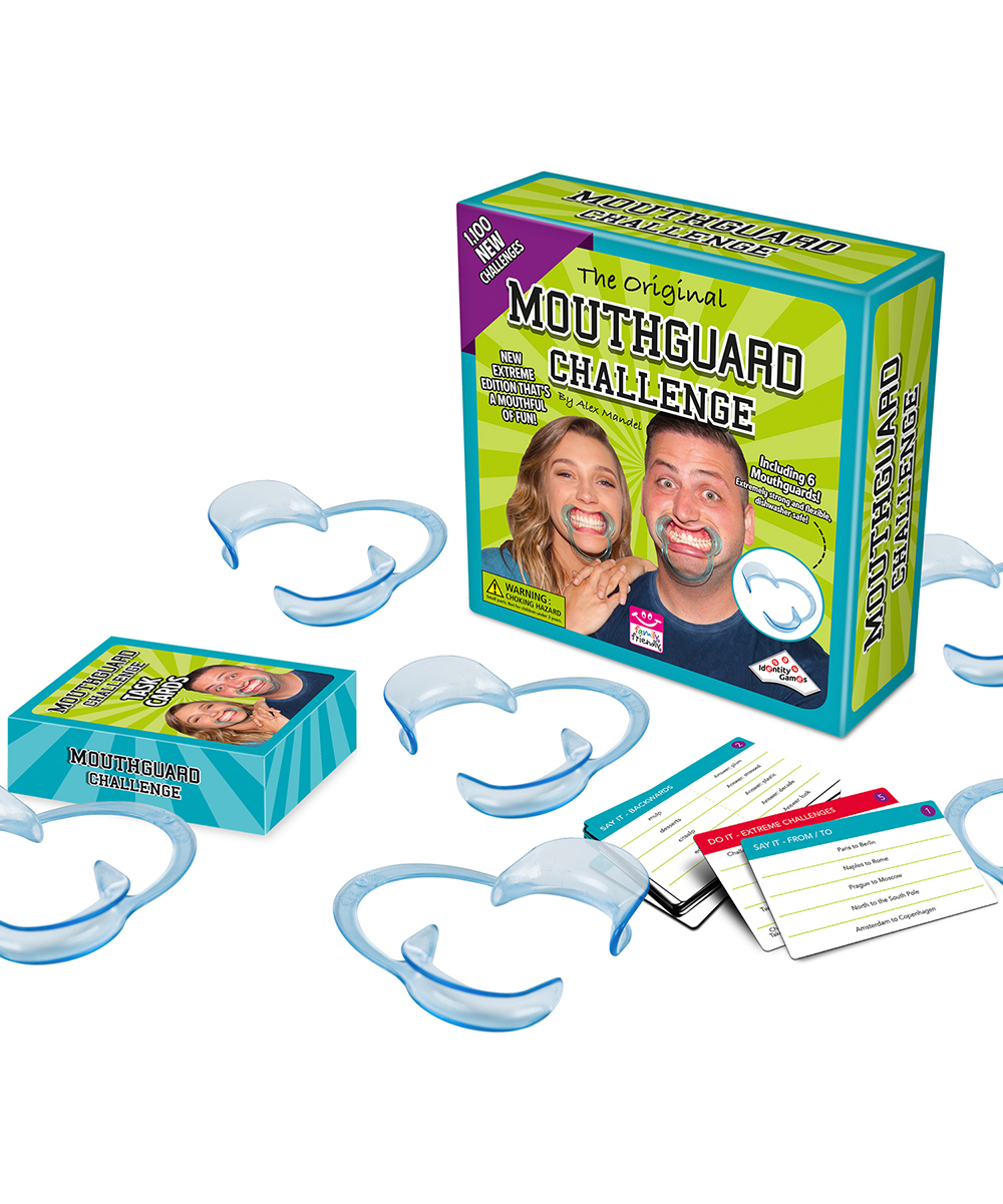 Identity Games Mouthguard Challenge Extreme Edition Game Zulily