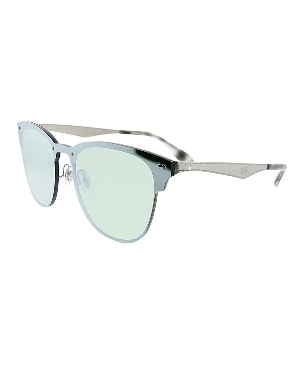 8a9c22e932 Ray-Ban Blue   Black Clubmaster Sunglasses - Unisex