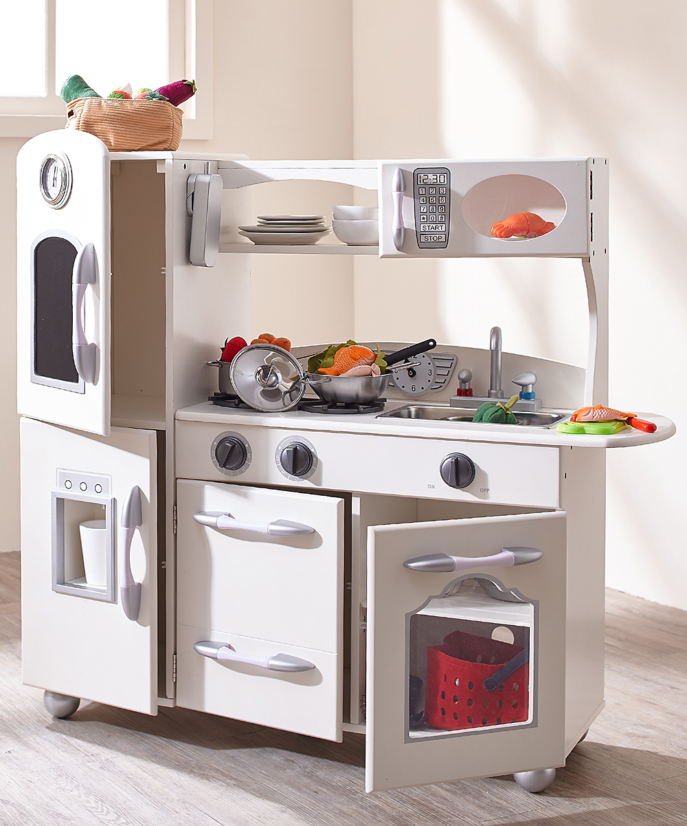 White Play Kitchen