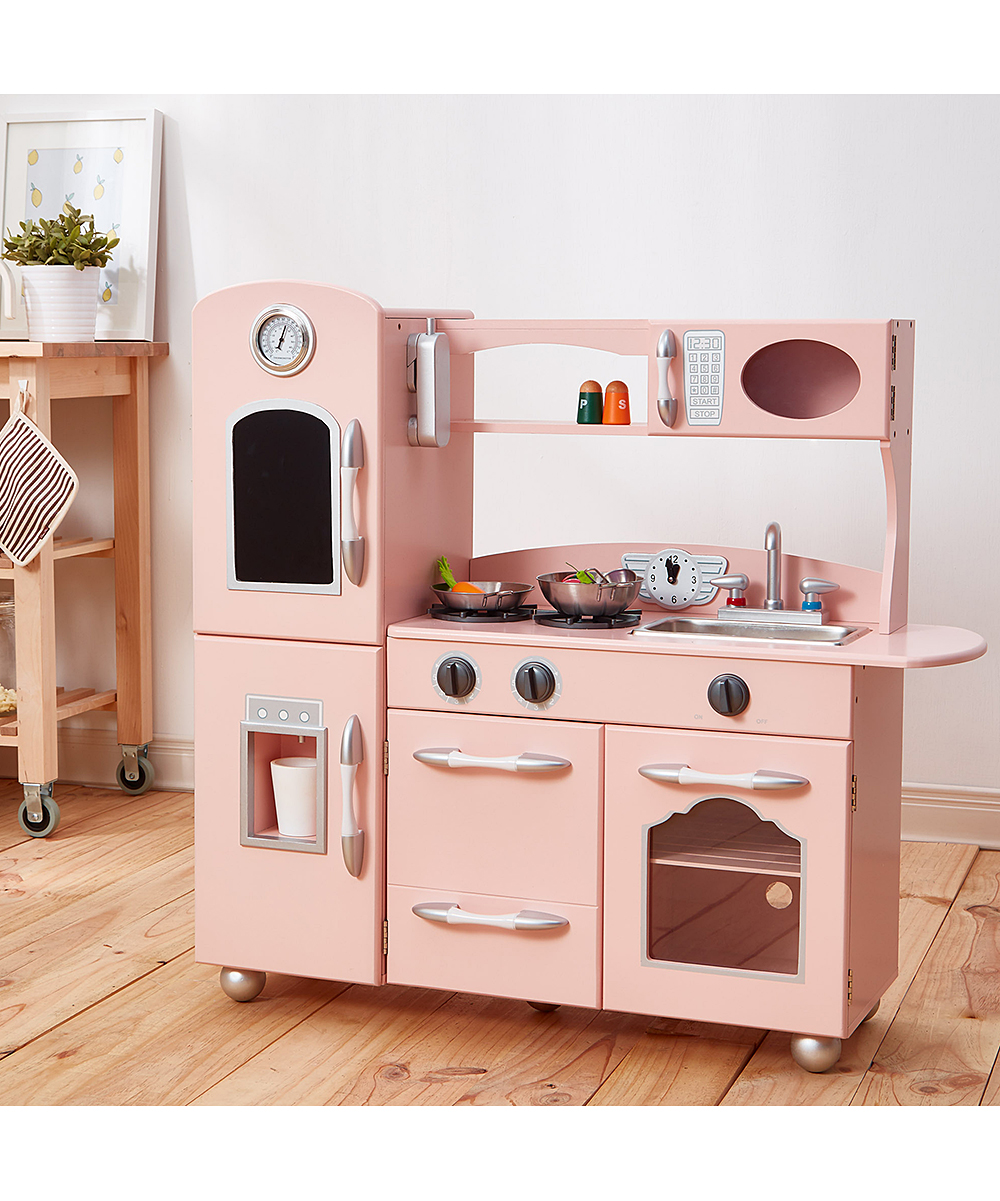 Pink Play Kitchen Set Zulily