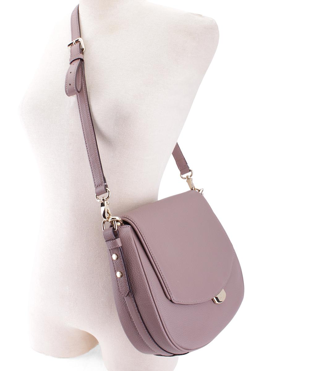 b574f7e670b4 ... Womens PORCINI - 274 Porcini Alecia Mulberry Street Leather Shoulder Bag  - Alternate Image 2