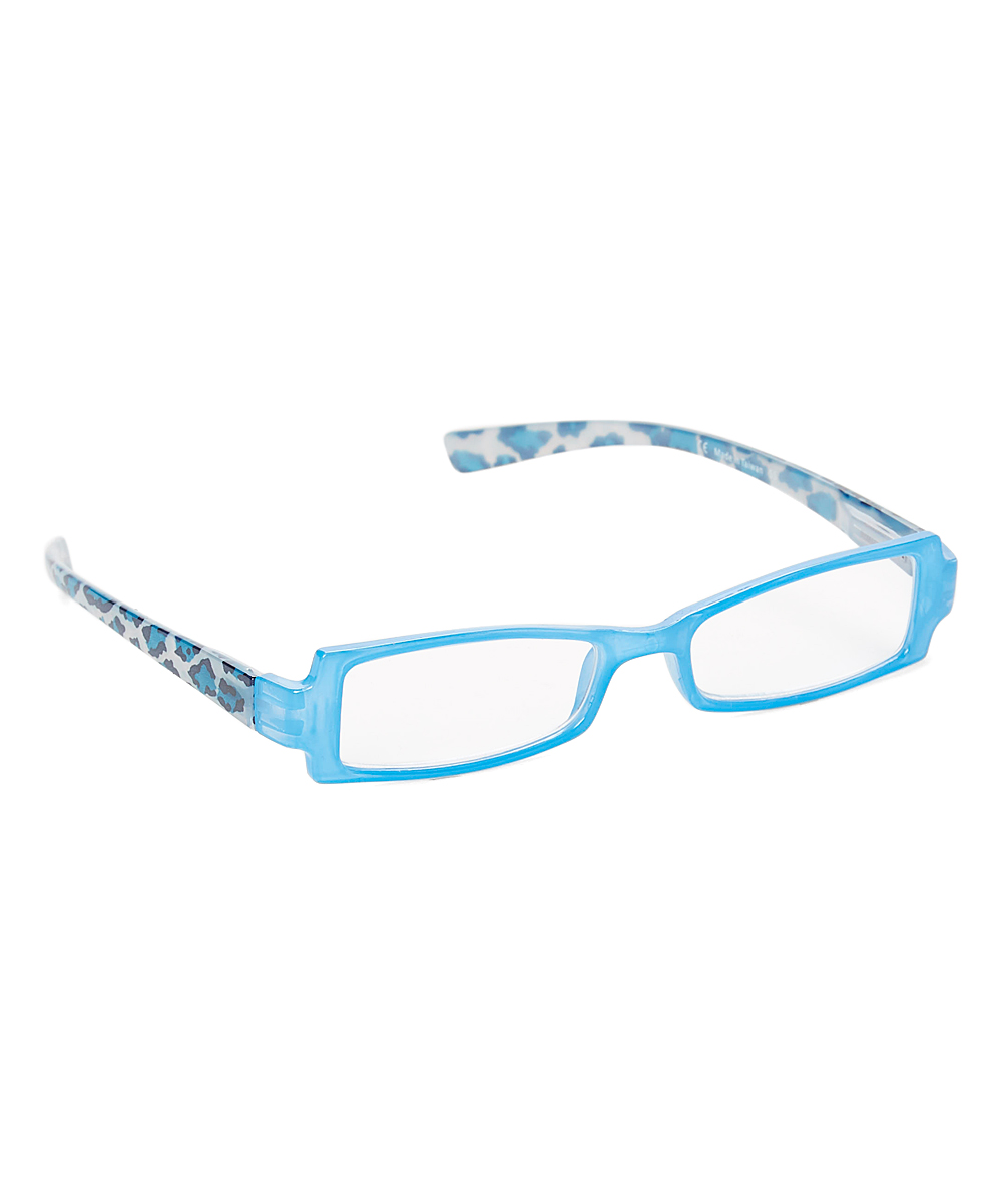 Paws N Claws Women's Reading Glasses blue/leopard - Blue & Leopard Daydream Readers