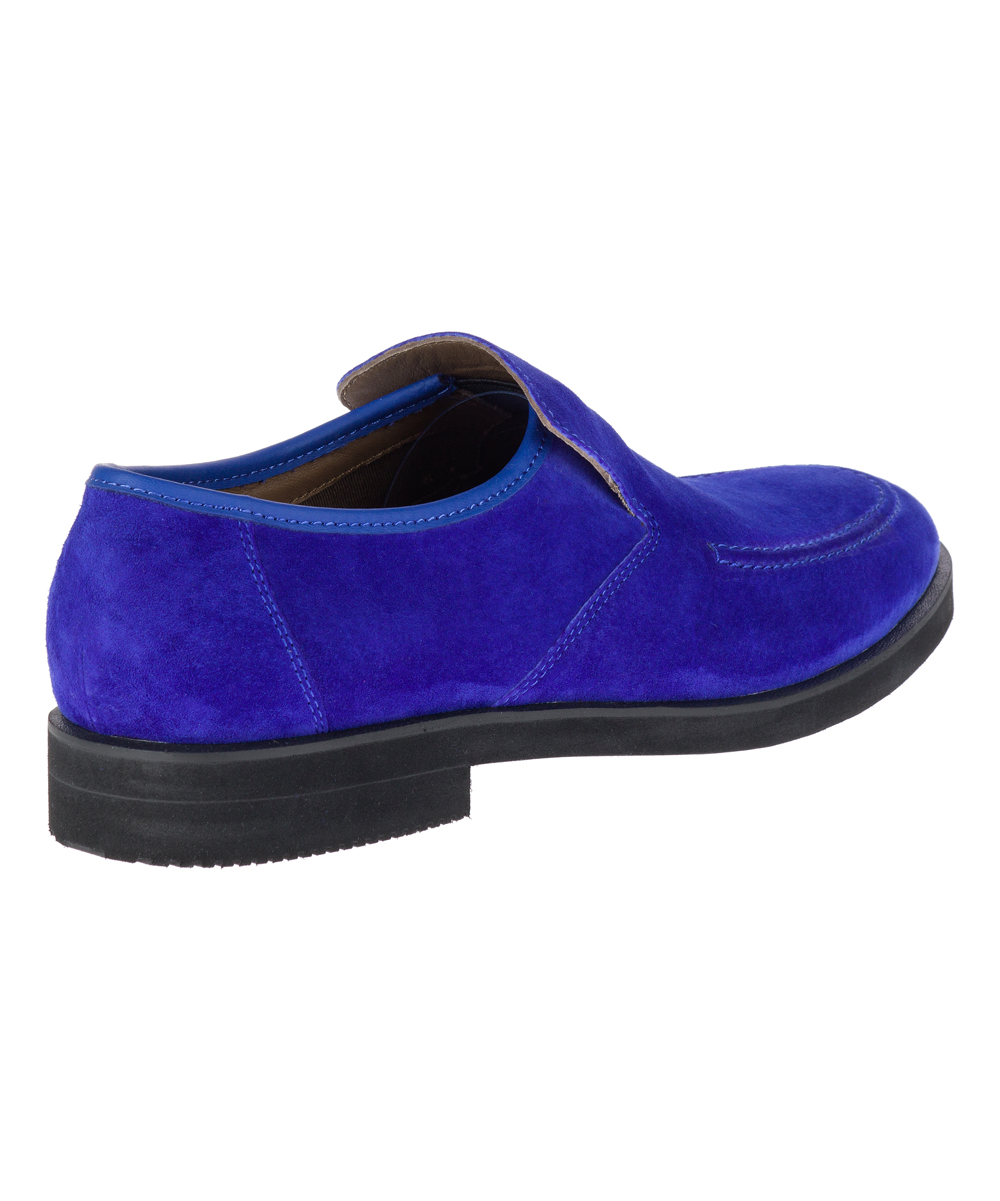 25ca35b43ea42 ... Mens ROYAL BLUE SUEDE Royal Blue Bracco MT Suede Loafer - Alternate  Image 3 ...