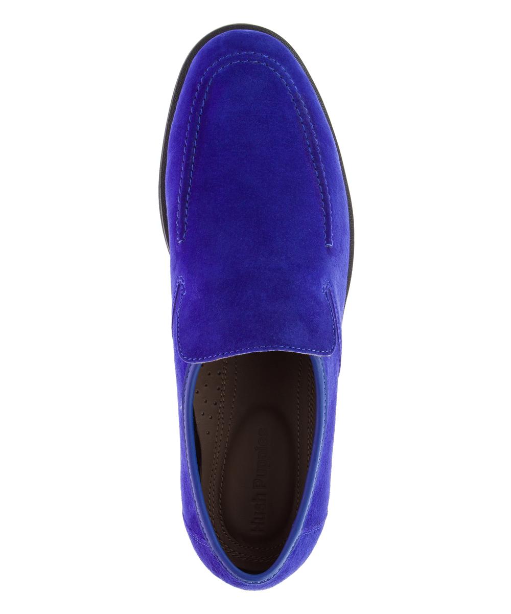 06cb67efdcd78 ... Mens ROYAL BLUE SUEDE Royal Blue Bracco MT Suede Loafer - Alternate  Image 4 ...