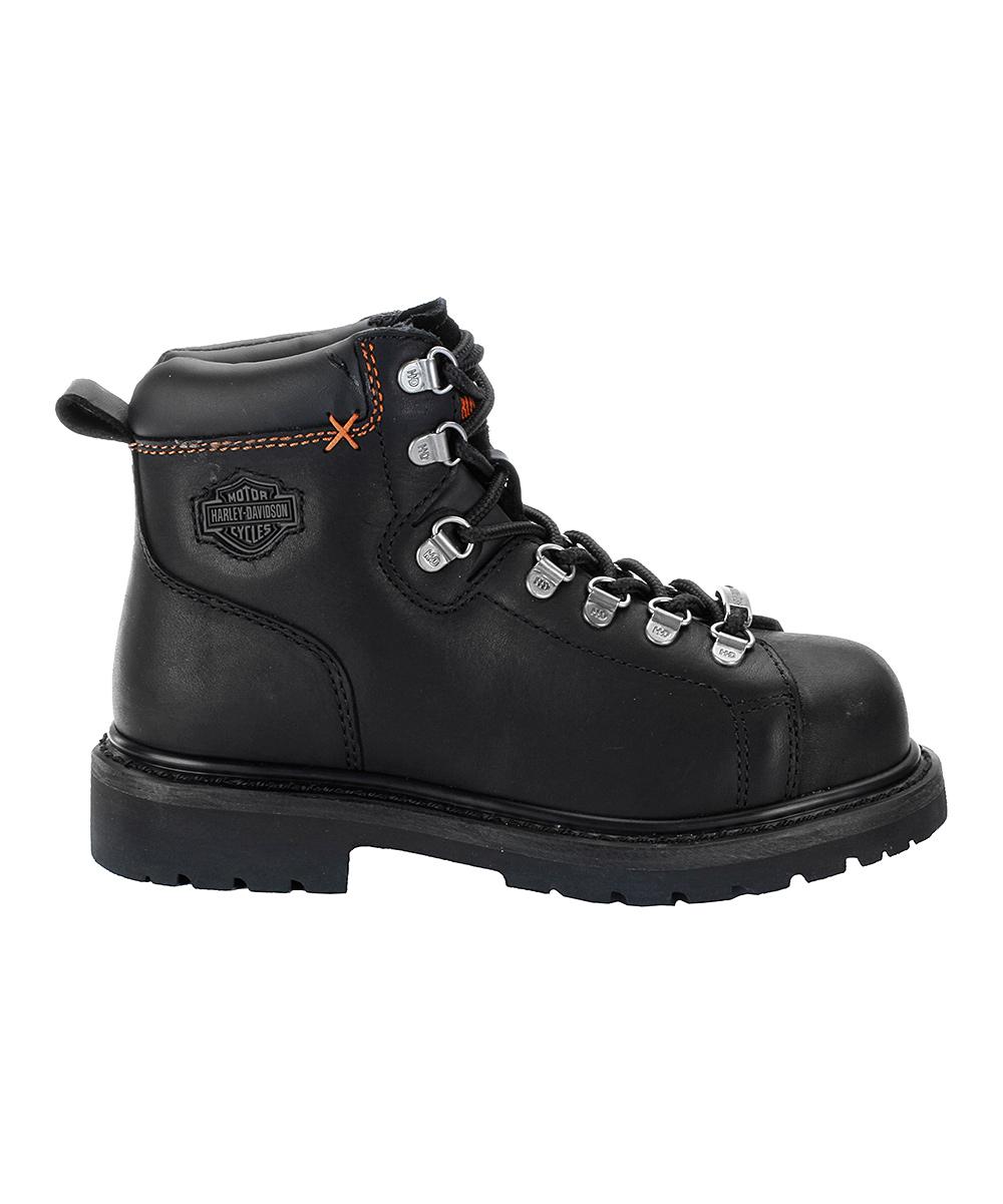 d457200c23f0 Harley-Davidson Footwear Black Gabby St. Leather Steel Toe Boot ...