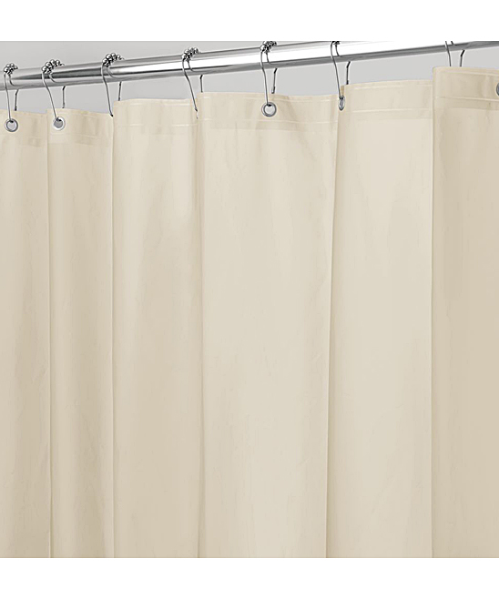 IDesign Sand Shower Curtain Liner