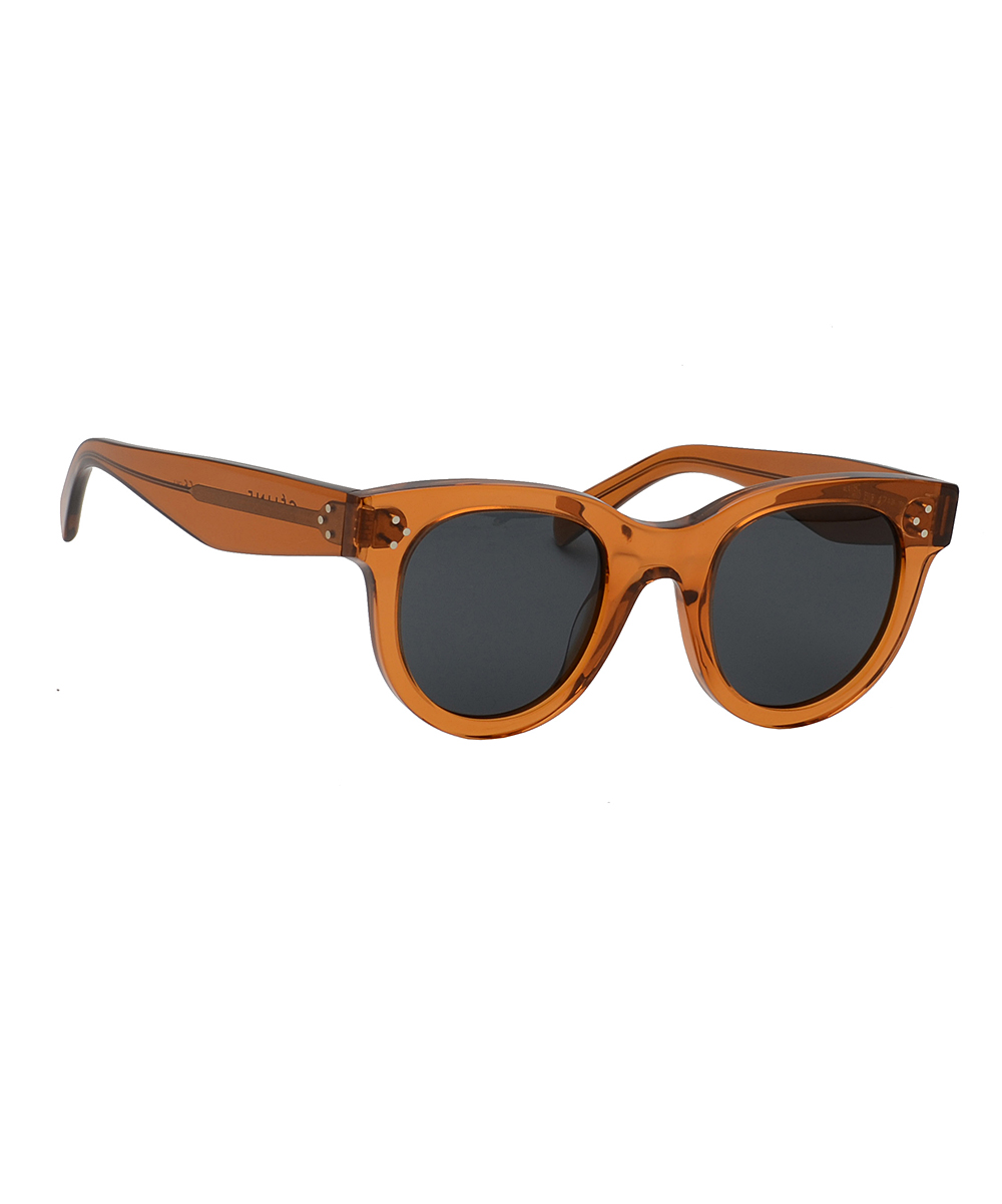 971955205c85a all gone. Transparent Brown Round Sunglasses · Womens Frame ...