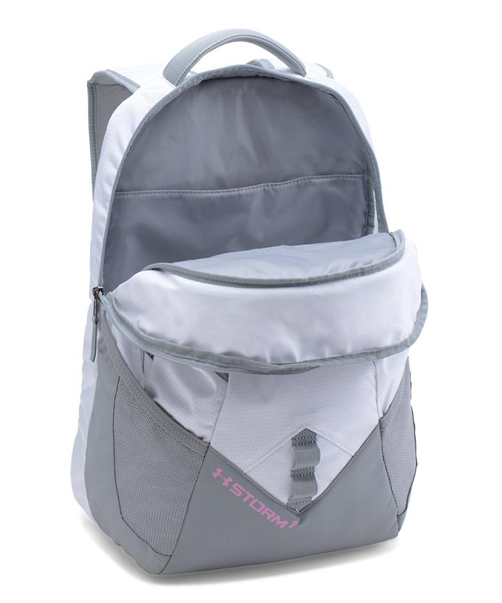 499ff42f0676 Under Armour® White UA Storm Big Logo IV Backpack