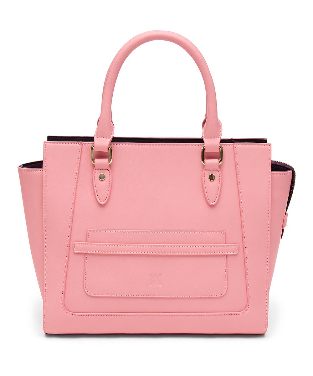 Marsi Bond Primrose Pink Michelle Classic Tote  f6cfde6c396a0