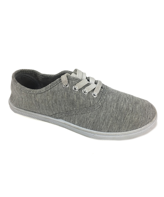Ositos Shoes Women's Sneakers GREY - Gray Classic Lace-Up Sneaker - Women