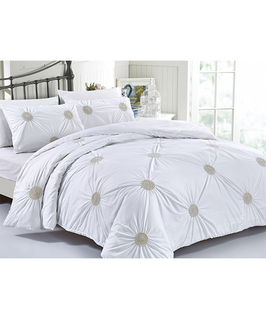Love This Product Tahiti Pearls Cotton Duvet Cover Set