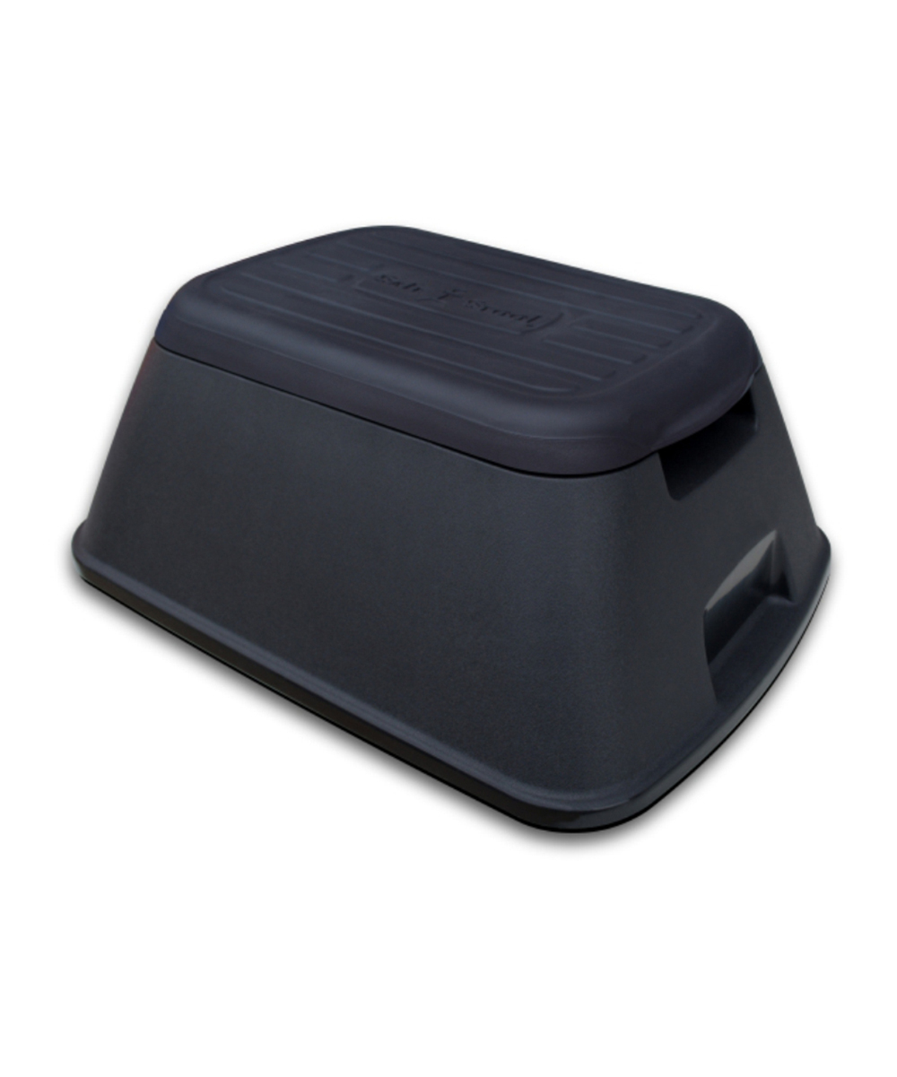 Safe-T-Stool  Step Stools Black - Black Safe-T-Stool Anti Tip Step Stool