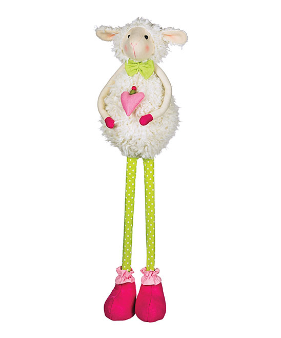 Standing Sheep Decor Standing Sheep Decor. Spruce up your holiday decor with this merry accent. The adorable design adds plenty of festive cheer to your space. 23'' HFabricImported